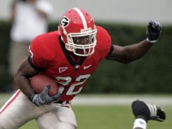 With the departures of Washaun Ealey and Caleb King, Georgia's Richard Samuels will return to play tailback. In his first two seasons, Samuels ran for 528 yards and three touchdowns for the Bulldogs.