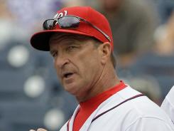 Former Nationals manager Jim Riggleman met with Giants general manager Brian Sabean and manager Bruce Bochy about joining the organization as a scout. Riggleman resigned as Nationals manager on June 23.