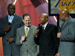Shaquille O'Neal will join the TNT broadcast team of Ernie Johnson, Kenny Smith and Charles Barkley next season.