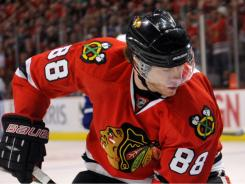 Patrick Kane apparently played the first round of the playoffs with a fractured wrist. He will have surgery.