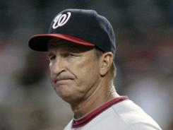Former Nationals manager Jim Riggleman is joining the Giants' staff.