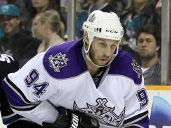 The Kings fulfilled Ryan Smyth's request to go back to Edmonton but say the Oilers offered injured players in return.