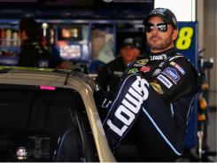 "Five-time Sprint Cup champion Jimmie Johnson was nominated for ""Best Male Athlete"" at ESPN's ESPY Awards, setting off a  twitter debate."