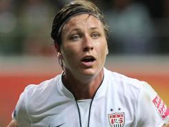 U.S. striker Abby Wambach will return to her WPS club team, magicJack.