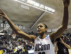 Maya Moore is the ninth Connecticut player to win the Honda Award for basketball, but only the second to do it twice.