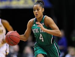With Skylar Diggins returning next season, Notre Dame should again be a factor on the court in women's basketball.