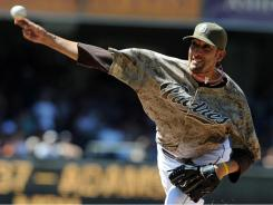 San Diego Padres relief pitcher Mike Adams would get a huge fantasy boost if closer Heath Bell is traded.