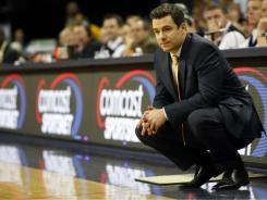 Virginia basketball coach Tony Bennett, in his third year with the Cavaliers, stresses patience in building a program.
