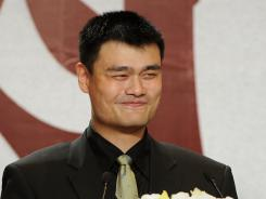 Chinese basketball player and NBA superstar Yao Ming made his retirement official with a press conference in Shanghai.
