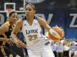 Though just a rookie, Maya Moore has the best-selling jersey in the WNBA and will start the All-Star Game.