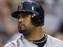Albert Pujols homered for the second consecutive game in a win over the Pirates Friday.
