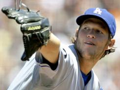 Los Angeles Dodgers starting pitcher Clayton Kershaw has a career-high three complete games and two shutouts this season.