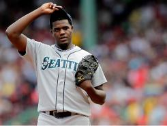 Mariners starter Michael Pineda allowed seven runs in 4 1/3 innings Sunday.