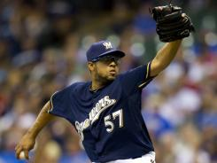 Francisco Rodriguez had 83 saves in two-plus seasons with the Mets.