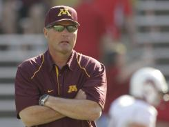 Former Minnesota Golden Gophers football coach Tim Brewster will be working the sidelines for Fox this season.