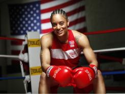 "Queen Underwood, 27, didn't begin boxing until high school, then started her ring career at 19. She says if she had taken up the sport earlier, ""I would have been great a long time ago."""