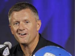 """Utah coach Kyle Whittingham knows his team is """"under the microscope"""" with the move to the Pac-12."""