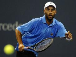 The United States' James Blake beat Michael Berrer  6-2, 6-3 at the Farmers Classic in Los Angeles on Tuesday.