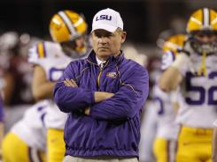 LSU football coach Les Miles has four years remaining on his current contract.