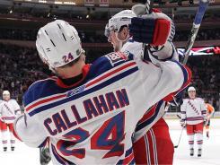 Ryan Callahan had 23 goals in 60 games last season, including a four-goal effort on March 6.
