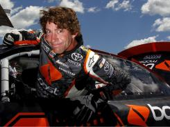 Travis Pastrana, shown July 14 in New Hampshire, makes his NASCAR debut Saturday.
