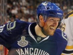 Vancouver's Jannik Hansen filed for arbitration two years in a row, but settled early this time.