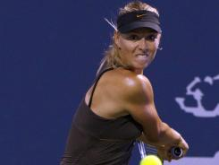 Maria Sharapova defeated Daniela Hantuchova 6-2, 2-6, 6-4 in the second round at the Bank of the West Classic on Wednesday. The win set up a possible quarterfinal match with Serena Williams.