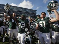 Michigan State and its Big Ten brethren tend to have small differences between estimated costs and the scholarships they receive.