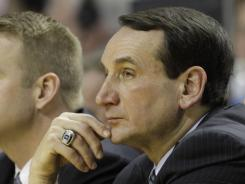 Duke is investigating whether coach Mike Krzyzewski committed a recruiting violation at a tournament in Florida this week.