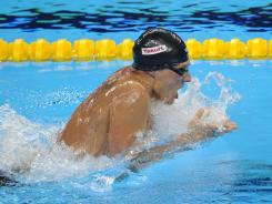 Ryan Lochte, swimming to victory in the 400 individual medley Sunday, could seek nine medals at the London Olympics.