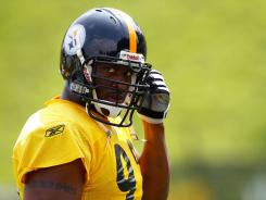 Pittsburgh linebacker James Harrison was fined four times for illegal hits last season totaling $100,000.