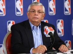 NBA Commissioner David Stern and owners have proposed a 10-year labor deal that diminishes the players' percentage of basketball-related income.