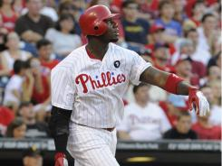 Phillies first baseman Ryan Howard powered past the Pirates with a homer and two doubles Saturday.