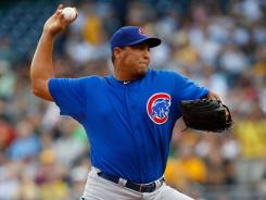 Carlos Zambrano survived six innings to pick up his 13th career win over the Pirates.