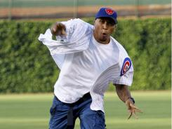 Chicago native Shawn Marion received the key to the city of Chicago and threw out the first pitch before the July 19 Cubs game.