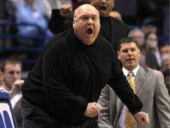 Saint Louis men's basketball coach Rick Majerus had a stent inserted into his heart recently but said he is excited for the start of the season.
