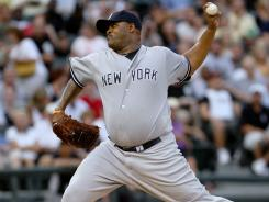 CC Sabathia wasn't his best, but he pitched out of trouble several times to pick up his 16th win of the season.