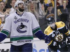 Ryan Kesler was dominant early in the playoffs but was slowed in the Stanley Cup Final by an injury.