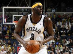 Darius Miles, shown here playing for the Memphis Grizzlies in 2009, was the No. 3 overall pick in the 2000 NBA draft.