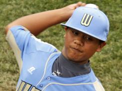 Pitchers such as Shiloh Baniaga, playing in last year's Little League World Series, should be monitored for overuse, a study says.