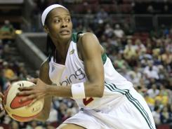 Swin Cash had 16 points to help Seattle beat San Antonio for its sixth straight home win.