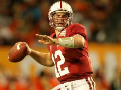 Andrew Luck is back at Stanford after leading the Cardinal to a 12-1 record and a win in the Orange Bowl last year.