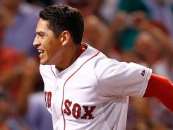 Jacoby Ellsbury hit his second game-winning hit in as many nights with a home run in the ninth inning.