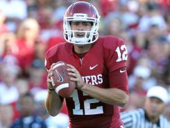 """Oklahoma quarterback Landry Jones on the loss of linebacker Austin Boxx: """"You can't erase a great team leader.  hellip/> He's always in the back of our minds."""""""