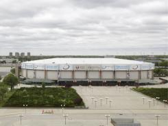 The Islanders are looking  for a new arena. Their lease at aging Nassau Coliseum expires in 2015.