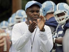 North Carolina interim football coach Everett Withers is trying to rebuild the reputation of a program under NCAA investigation.