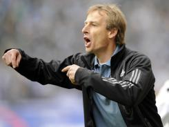 Jurgen Klinsmann, here directs Bayern Munich during a 2009 match, is developing individual plans for each player to improve.