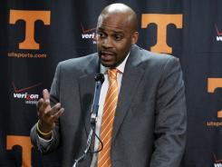 Cuonzo Martin was hired at Tennessee in March after coaching three seasons at Missouri State.