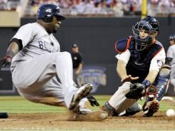 David Ortiz ninth-inning heroics helped the Red Sox to an 8-6 victory over the Minnesota Twins on Monday night, handing the Twins their fifth loss in a row.
