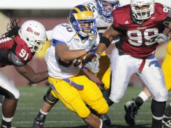 As a freshman last season, Andrew Pierce accounted for just shy of 60% of Delaware's rushing yards.